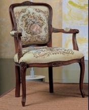 Sendinti klasikiniai baldai Seven Sedie art 0243P Krėslas